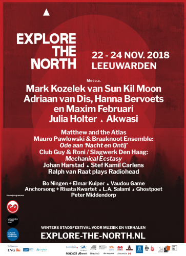 Poster Explore the North 2018